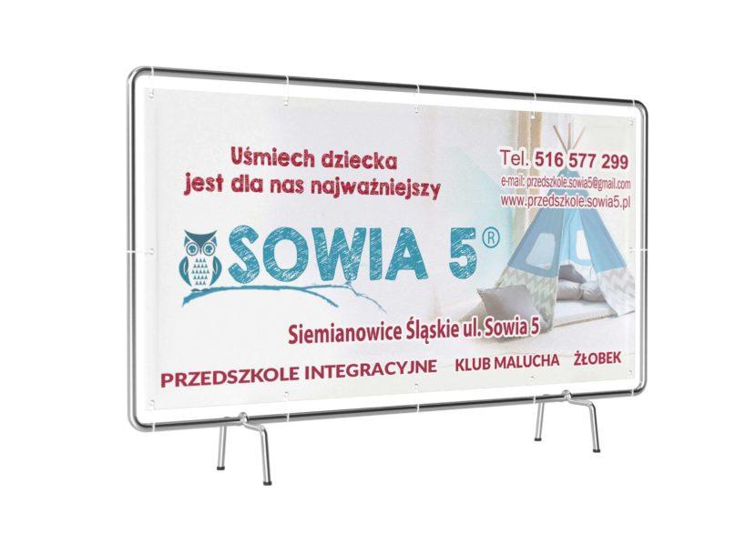 baner dla przedszkola Sowia 56