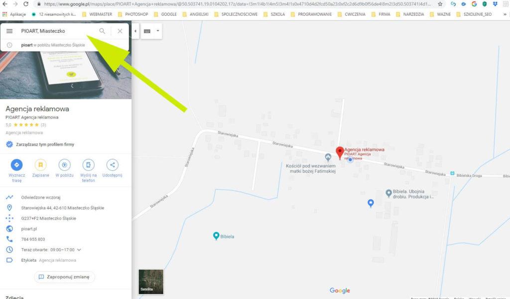 Jak wstawić mapę google na stronie www
