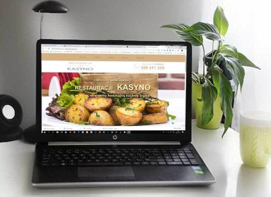 stron internetowa dla restauracji